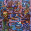 KUSBUDIYANTO - Painting - Mother of Life