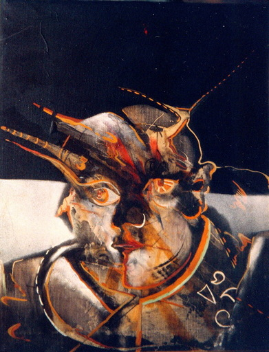 Xaime CABANAS - Pintura - CABEZA