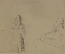 Giacomo MANZU - Print-Multiple - Il pittore e la modella