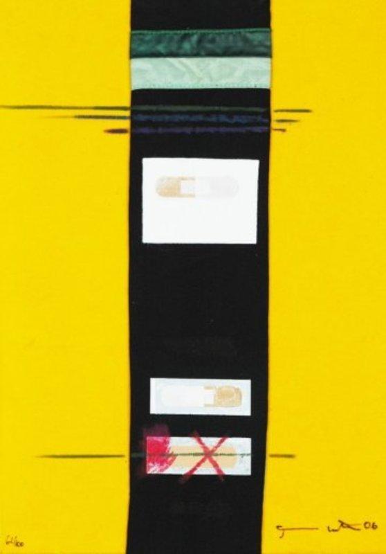 Hermann NITSCH - Estampe-Multiple - Collage Multiple #62