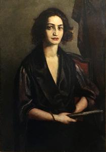 Emile Henri BERNARD - 绘画 - Donna veneziana
