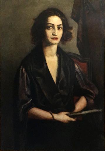 Émile BÉNARD - Peinture - Donna veneziana