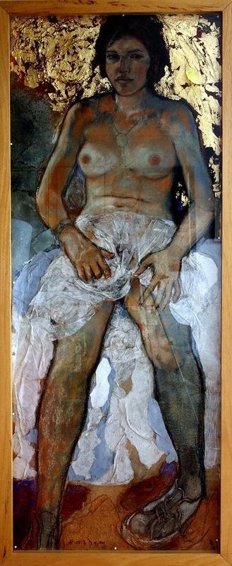 Michael BASTOW - Pittura - Femme