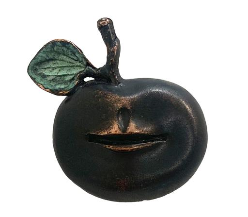 Claude LALANNE - Sculpture-Volume - Broche Pomme Bouche