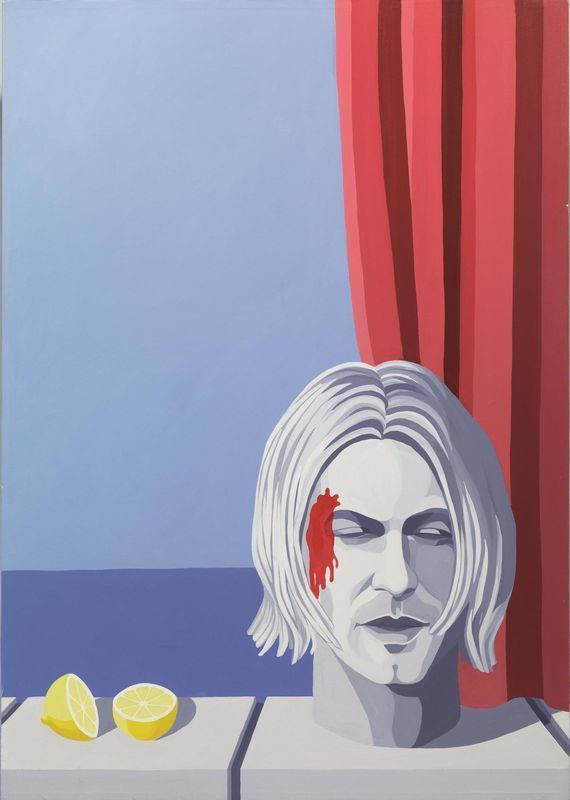 Giuseppe VENEZIANO - Painting - La memoria di Cobain