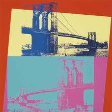 安迪·沃霍尔 - 版画 - Brooklyn Bridge