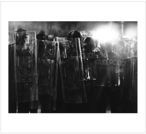 Robert LONGO - Stampa Multiplo - Untitled (Riot Cops)