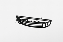 Julian OPIE - Escultura - Boat 2, from Nature 1 Series