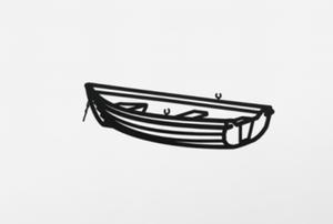Julian OPIE - Sculpture-Volume - Boat 2, from Nature 1 Series