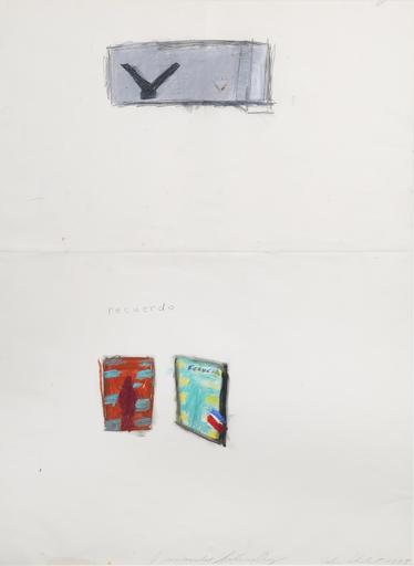 Julian SCHNABEL - Peinture - I remember Santa Cruz (recuerdo)