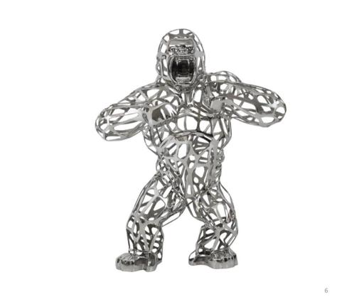 Richard ORLINSKI - Sculpture-Volume - WILD KONG LACE STAINLESS STEEL