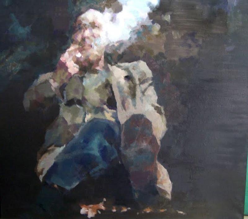 JIANG BO - Painting - Homesick