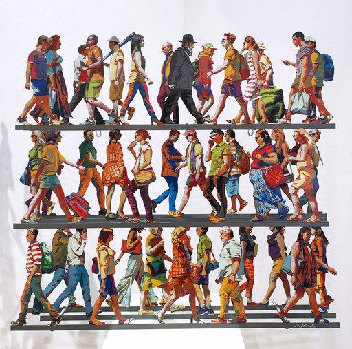 David GERSTEIN - Sculpture-Volume - 5th Avenue M