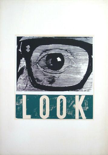 Joe TILSON - Grabado - Look