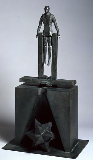 Mimmo PALADINO - Escultura - Acrobata (sculpture)
