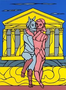 Valerio ADAMI - Painting - Fauno