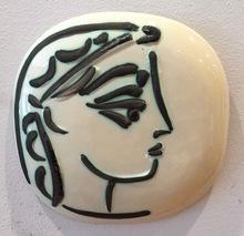 Pablo PICASSO - Ceramic - Profile of Jacqueline (Profil de Jacqueline)