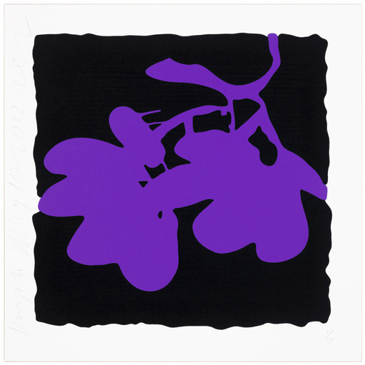 Donald SULTAN - Print-Multiple - Purple, May 10, 2012