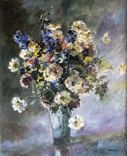 Laurent PARCELIER - Gemälde - Flowers