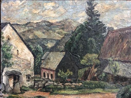 Émile AUBRY - Pintura - Paysage