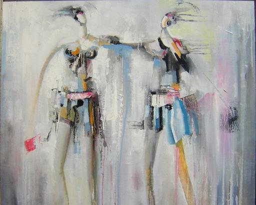 Patrick CORNÉE - Pittura - Fashion girl