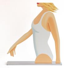 亚历克斯·卡茨 - 雕塑 - Coca Cola Girl 1 (cutout)