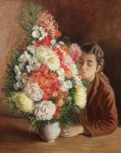 André HAMBOURG - Pittura - Le bouquet indigène