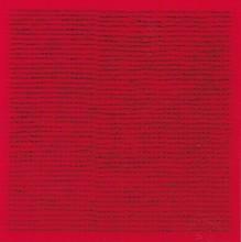 Bernard AUBERTIN - Peinture - Clou (rouge)