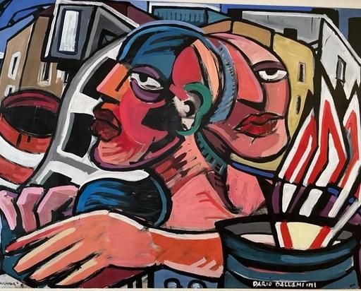 Dario BALLANTINI - Pintura - Senza titolo