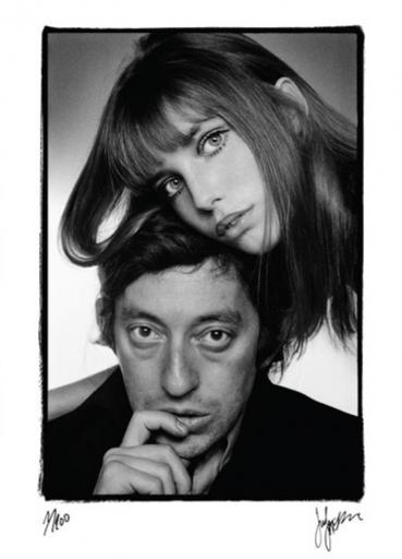 Just JAECKIN - Photography - Gainsbourg & Birkin - Ne faisaient qu'un (1976)