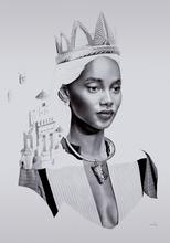 David BAYO - Dibujo Acuarela - 'Régalia'