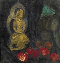 Boris Israelewitsch ANISFELD - Pittura - BUDDA WITH POMEGRANATES