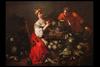 Francesco POLAZZO - Gemälde - Greengrocer with young helper