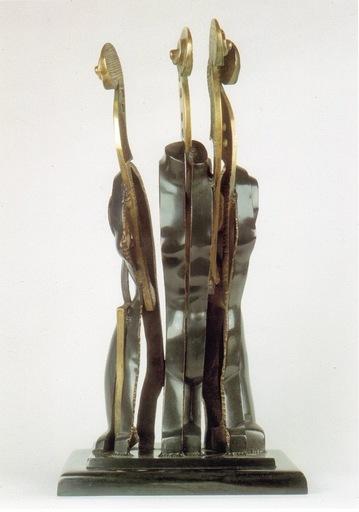 阿尔曼 - 雕塑 - La Tete Ailleurs