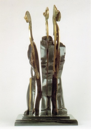 Fernandez ARMAN - Escultura - La Tete Ailleurs