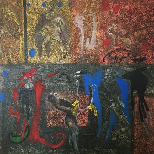 Soly CISSÉ - Peinture - Mauvaise éducation