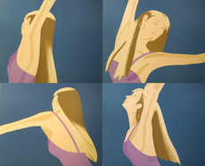 Alex KATZ - Grabado - Night: William Dunas Dance Suite