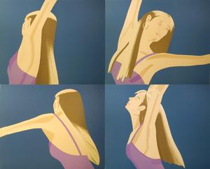 Alex KATZ - Print-Multiple - Night: William Dunas Dance Suite