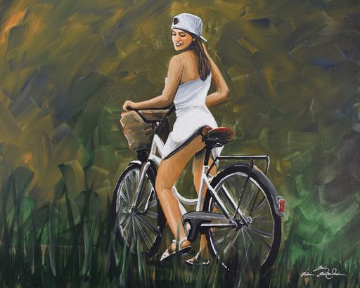Rémi BERTOCHE - Painting - Sans culotte