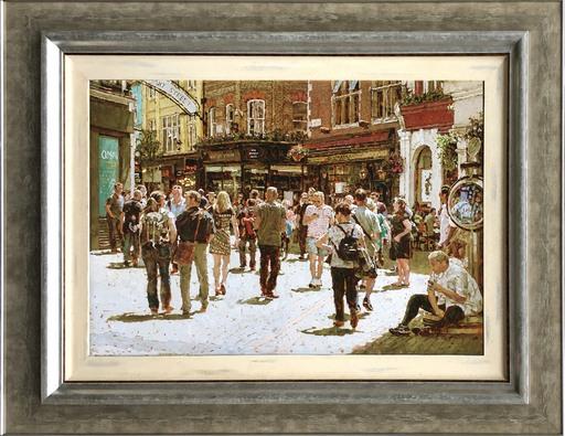 Tony KARPINSKI - Painting - Carnaby Street