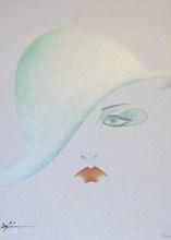 Hisashi OTSUKA - Grabado - Eye- Green Hat