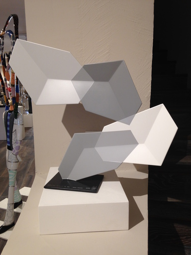 Rafael BARRIOS - Sculpture-Volume - Malabarismo horizontal M448 - Grays