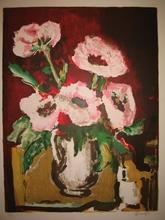 Jacques DAUFIN - Print-Multiple - Fleurs,1965.