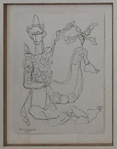 René PORTOCARRERO - Peinture - Untitled