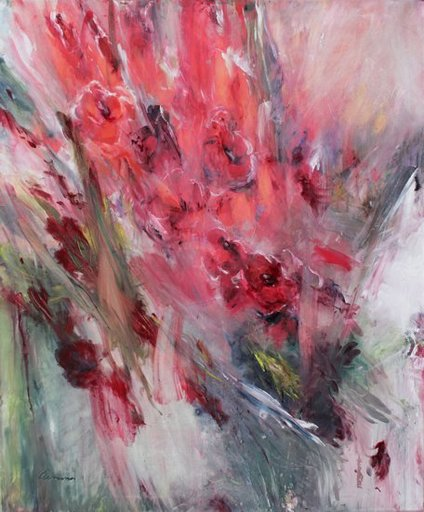 Jutta-Maria CLEMENS - Pintura - Gladiolen