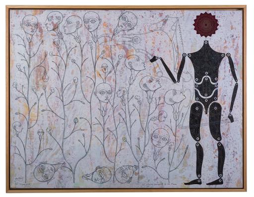 Carlos ESTÉVEZ - Peinture - El sueño recurrente de las flores