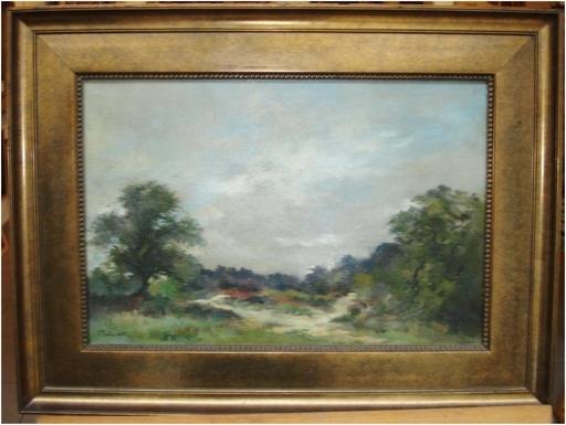 Aurel BAESU - Gemälde - Paysage