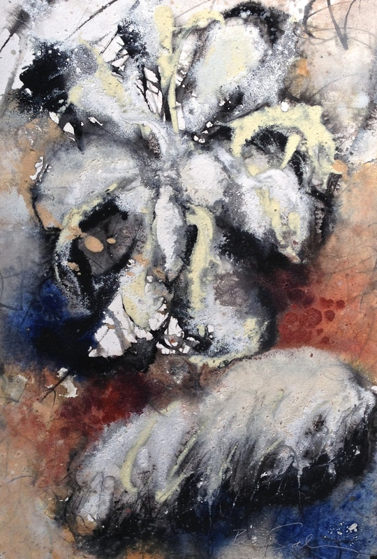Baruj SALINAS - Dibujo Acuarela - Cloud Bloom