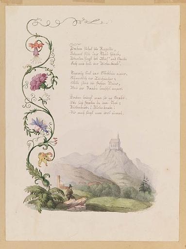 "Anton II ALTMANN - 水彩作品 - ""Illustration"", Watercolor"