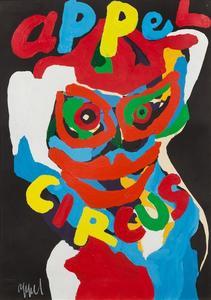 Karel APPEL - Gemälde - Appel Circus